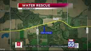 Man rescued from Elkhart River Friday [Video]