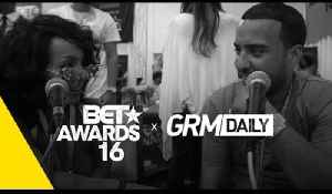 French Montana talks UK Acts, New single and album & shows off his new watch | BET Awards 2016 [Video]