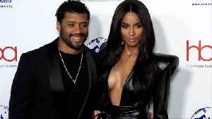 Russell Wilson and Ciara 2019 'Hollywood Beauty Awards' Red Carpet [Video]
