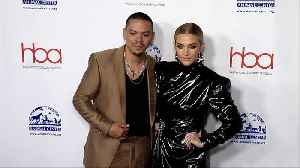 Ashlee Simpson and Evan Ross 2019 'Hollywood Beauty Awards' Red Carpet [Video]