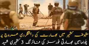 Pulwana: Indian forces martyred 3 innocent Kashmiris [Video]