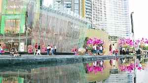 Tourists flock to see longest water fountain in South East Asia [Video]