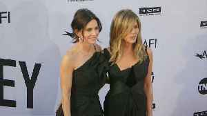 Jennifer Aniston and Courteney Cox land in Mexico after plane drama [Video]