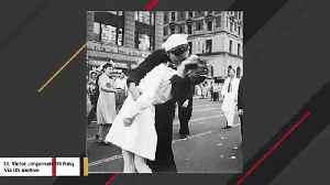 George Mendonsa, Sailor In Iconic Times Square Kissing Moment From End Of WWII Dies At 95 [Video]