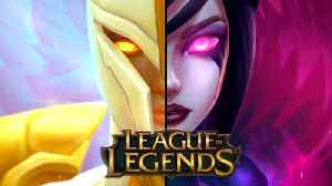 League of Legends -  Kayle & Morgana Champion Official Gameplay Trailer | The Righteous and the Fall [Video]