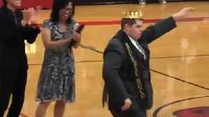North Carolina Student With Autism Crowned Homecoming King [Video]