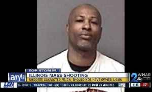 Illinois mass shooter convicted felon, should not own gun [Video]