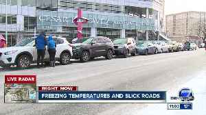 Traffic slow on Presidents' Day morning, with more snow expected later Monday [Video]