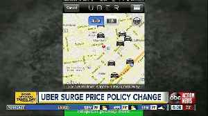 Uber's surge pricing policy change could cost workers $1,000 a month [Video]