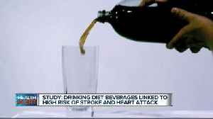 Drinking two or more diet beverages a day linked to high risk of stroke, heart attacks [Video]
