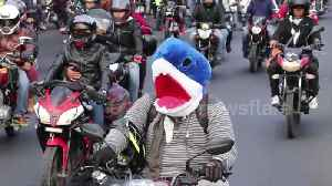 Thousands join costumed motorcycle pilgrimage in Guatemala [Video]