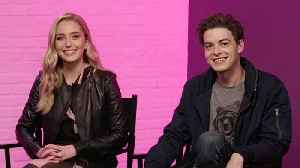'Happy Death Day 2U' Stars Jessica Rothe and Israel Broussard Talk