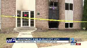 Several Residents Displaced after Ellicott City Apartment Fire [Video]