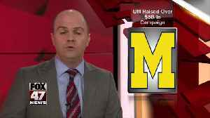 U of Michigan pulls in $5.28 billion in fundraising campaign [Video]