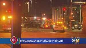 Dallas Fire-Rescue Ambulance And Truck Involved In Accident With Patient On Board [Video]