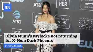 Olivia Munn Wont Be In New X-Men Movie [Video]