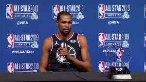 News video: Durant named MVP as Team LeBron rallies for NBA All-Star win