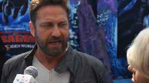 Gerard Butler thinks 'How to Train Your Dragon: The Hidden World' is not just for kids [Video]