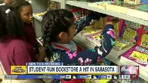Tuttle Elementary's student-run bookstore is a smash-hit in the age of Fortnite and cell phones [Video]