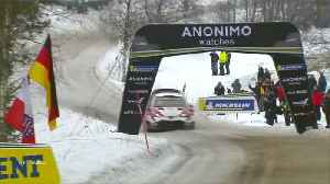 Tanak extends his lead in Rally Sweden [Video]