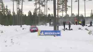 Tanak maintains Rally Sweden lead [Video]