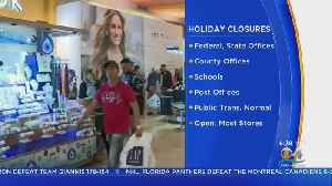 Presidents' Day: What's Open and Closed In South Florida [Video]