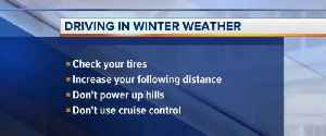 Icy roads, multiple accidents February 18 [Video]