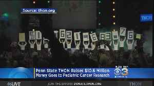 Penn State THON Raises Money For Pediatric Cancer Research [Video]