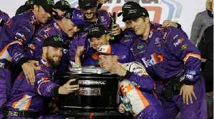 Denny Hamlin Won The Daytona 500 [Video]
