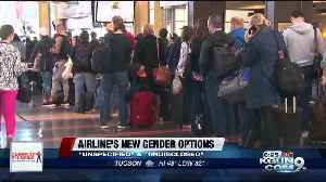 Airlines to offer more gender options for passengers in the near future [Video]