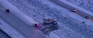 NHP discusses black ice, 13 crashes on I-15 [Video]