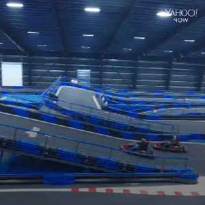 This is the largest indoor go-kart track [Video]