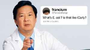 Ken Jeong Answers More Medical Questions From Twitter [Video]