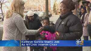 Kathryn Garcia Starts Job As NYCHA Interim Chair [Video]