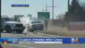 Police Officer Hurt During Chase In Colorado Springs [Video]