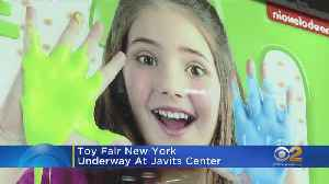Toy Fair New York Underway At Javits Center [Video]