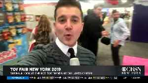 NYC's Toy Fair Brings On The Fun [Video]