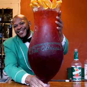 Massive $200 hurricane cocktail is one of New Orleans' most popular drinks [Video]
