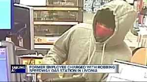 Man charged with robbing Speedway where he used to work [Video]