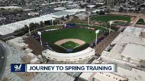 TODAY'S TMJ4's Delaney Brey makes the long journey to Brewers Spring Training [Video]