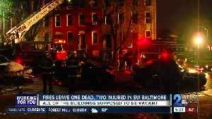 Fires Leave One Dead, Two Injured in SW Baltimore [Video]