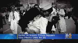 Sailor In Iconic WWII Kiss Photo Dies [Video]