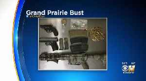 Traffic Stop Yields Drugs, Guns, Family Violence Suspect Arrest In Grand Prairie [Video]