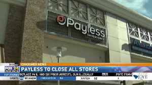 Payless Shoes Closing Down Fro Good [Video]