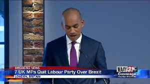 News video: 7 UK MPs Quit Labour Party Over Brexit