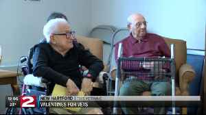 Love continues in New Hartford as part of Brindisi's 'Valentine's for Vets' program [Video]