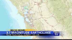 3.7-magnitude quake hits Yountville Sunday [Video]