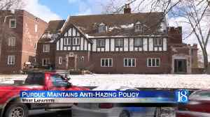 Purdue Maintaining Strong Anti-Hazing Policy After LSU Hazing Incident [Video]