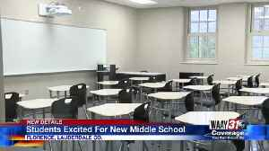 Students Excited For New Middle School [Video]