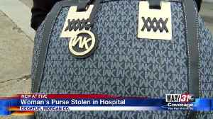 Purse Stolen from Decatur Hospital [Video]